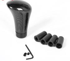Carbon Fiber Black Universal Car Manual Car Gear Stick Shift Knob Shifter