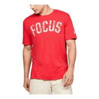 Under Armour Men's Project Rock Focus Short Sleeve Loose T-Shirt 1351584-608