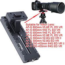 Trépied Anneau Bague Base Plateau Rapide pour Nikon AF-S 800mm f/5.6E FL ED VR