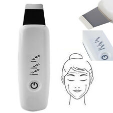 Vibrated Ultrasonic Scrubber Galvanic Current Body Face Spatula Pimple Extractor