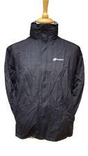 #389 Berghaus Ladies Black Calisto Aquafoil Waterproof Raincoat UK 14