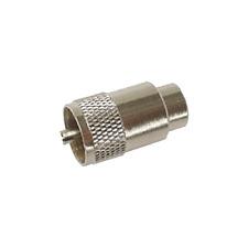 Fiche UHF PL259 UHF Mâle  Qualité Chromé Câble à Visser