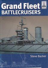 Shipcraft GRAND FLEET BATTLECRUISERS royal navy history design operations models