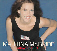 MARTINA MCBRIDE Greatest Hits 2001 UK 4-trk promo CD