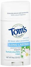 Tom's of Maine Natural Care Deodorant Stick Honeysuckle-Rose 2.25 oz
