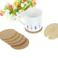 1pc Cork Wood Drink Coaster Tea Coffee Cup Mat Pads Table Decor Tableware HB NYL