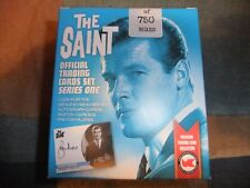 ROGER MOORE THE SAINT SEALED UNSTOPPABLE BOX 36 card set 3 Autographs or Sketch