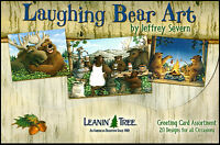 Leanin Tree Greeting Cards 20 Box Set  LAUGHING BEAR ART