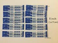 Zebra Gel Ink Rollerball Refill JSB-0.5 core Royal Blue 10 pcs B-RJSB5-RBL
