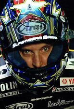 Colin EDWARDS SIGNED Portrait Photo Autograph AFTAL COA YAMAHA Texas Tornado