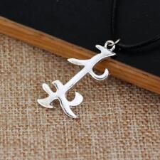 Mortal Instruments City of Bones Parabatai Rune Necklace Friendship Pendant