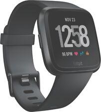 Fitbit Versa schwarz Smartwatch Fitnessuhr