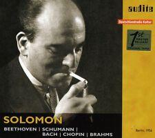 Solomon Cutner - Solomon Plays Beethoven Schumann Bach & Brahms [New CD]