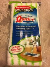 Quickie HomePro Mighty Mop Refill Terry Cloth 6.5w x 2.5d Green 0764M