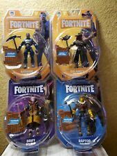 Fortnite Action Figure Lot, Drift, Carbide, Raptor and Calamity