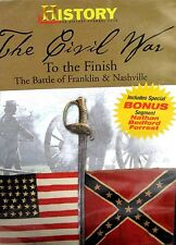 The civil war to the Finish NEW! DVD  Battle Franklin, Nashville,History Channel