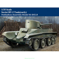 HobbyBoss 1/35 84514 Scale Soviet BT-2 Tank(early) Military Assembly Model Kit