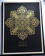 OBEY / Shepard Fairey: Rise Above, poster signé et numéroté