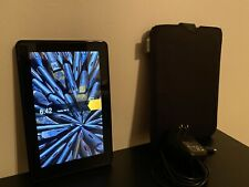 Amazon Kindle Fire 1st Gen Black E-reader Tablet With Case EXCELLENT CONDITION