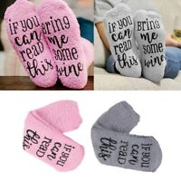 Women Socks If You Can Read This / Bring Me Some Wine Print Fashion Cupcake Gift