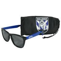 NRL Sunglasses & Case Set - Canterbury Bulldogs - Rugby League
