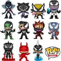 Official Venomized Avengers Captain America Venom Marvel Funko Pop Vinyl Figures