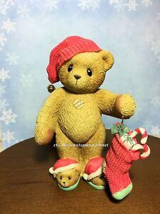 Cherished Teddies Carlton Have a Warm Fuzzy Holiday 2005  #4002833  NIB SIGNED