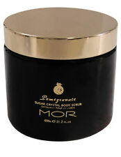 NEW MOR Sugar crystal body scrub 600g pomegranate