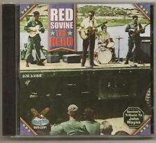"RED SOVINE, CD ""THE HERO"" (RED SOVINE, TRIBUTE TO JOHN WAYNE) NEW SEALED"