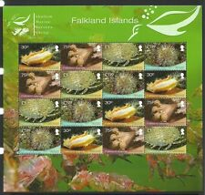 FALKLAND ISLANDS 2013 SHALLOW MARINE SURVEYS GROUP SHEETLET MNH