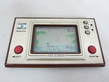 LCD PARACHUTE Wide Screen PR-21 Game Watch Handheld Console Nintendo Tested 2779