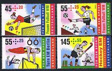 2857 - 2860 ** BRD 2011, Sport. Frauen Fußball WM