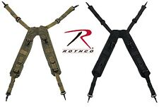 Military Tactical H Style LC-1 Pistol Belt Suspenders Rothco 7045 7046