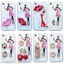 NEW BLING DELUX DIAMANTE SPARKLE DRESS CASE COVER FOR SAMSUNG iPHONE SONY HTC 11
