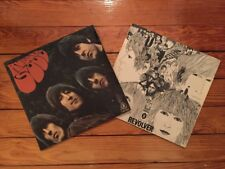 The Beatles - Rubber Soul + Revolver 1st German Presses Odeon SMO 84066/SHZE 186