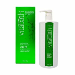 VITABATH ORIGINAL SPRING GREEN MOISTURIZING BATH & SHOWER GELEE 32 OZ.