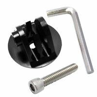 Aluminum Alloy Bicycle Bike Headset Top Cap Adapter Mount For Go Pro Hero 9 8 7