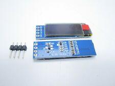 "Display OLED LCD LED 0,91"" 128X32 128362 I2C IIC SSD1306 bianco 4 pin arduino"