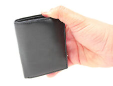 Men's Soft Smooth Real Leather RFID BLOCKING Wallet Credit Card Holder Purse #87