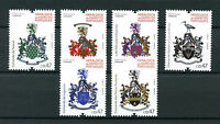 Portugal 2016 MNH Army Heraldry 6v Set Coat of Arms Military Stamps