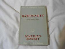 Rationality Jonathan Bennett HC 1967
