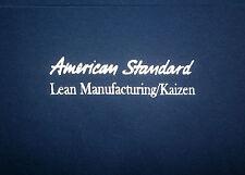 AMERICAN STANDARD T SHIRT Toilet Urinal Company Lean Manufacturing Kaizen 2XL