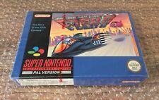 F-Zero Super Nintendo SNES Game Red Strip Sealed UK PAL