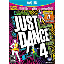 Just Dance 4 (Wii U, 2012) NTSC ~ Brand New Factory Sealed ~ Free Shipping!