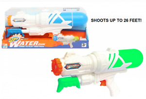 Super Water Gun Garden Water Pump Action Super Pistol Cannon Outdoor Fun Soaker