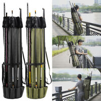 Multi Function Fishing Backpack Large Capacity Tackle Rod Storage Bag Camping