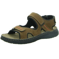 Longo Wörishofen Herren Schuhe Sandale Sandalette 1006516 3 braun Leder