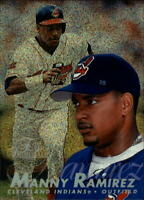 1997 Flair Showcase Row 0 Cleveland Indians Baseball Card #33 Manny Ramirez