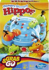 Hasbro Family Gaming Grab And Go - HUNGRY HUNGRY HIPPOS - TRAVEL Game Hasbro