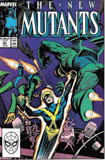 The New Mutants Comic Book #67, Marvel Comics 1988 Very Good+